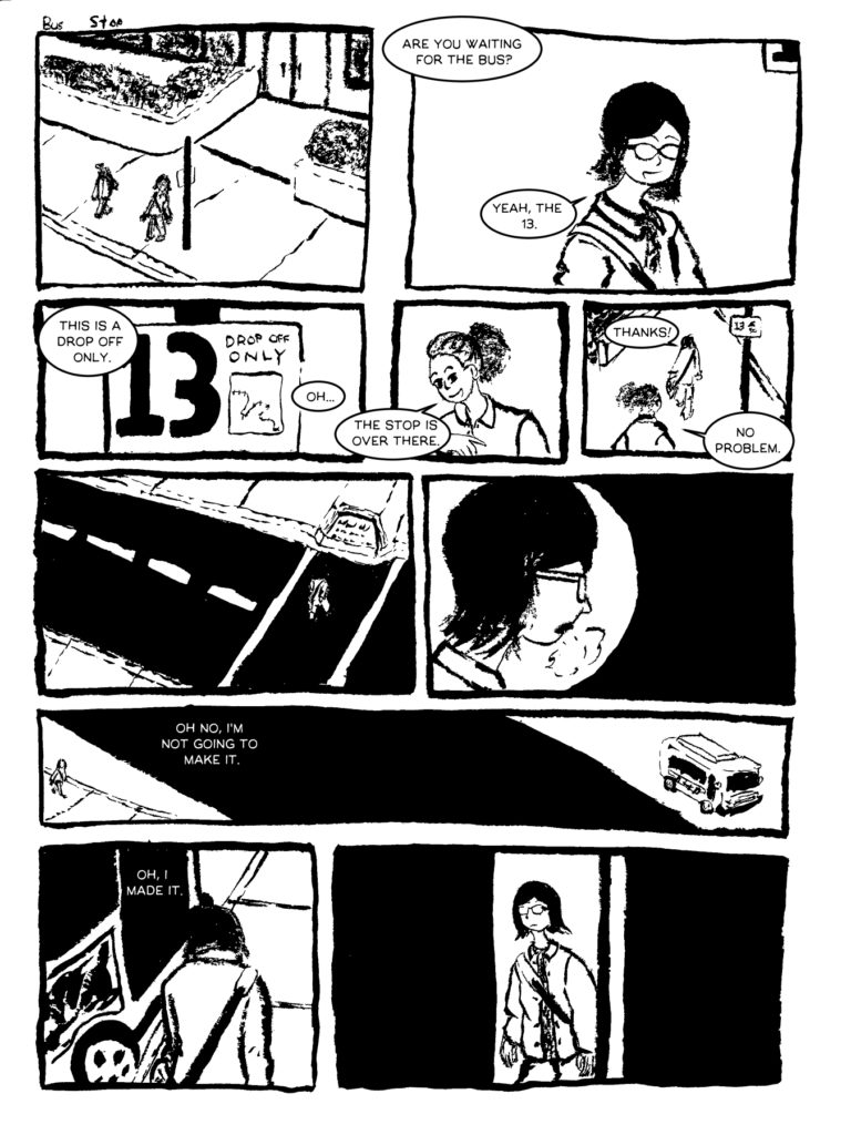Bus Comic Page 1