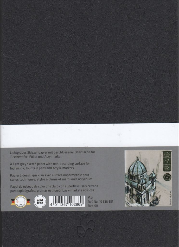 Hahnemühle Grey Book Back